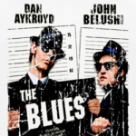 Blues Brothers movie poster retro