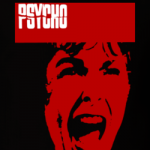 Psycho square movie poster