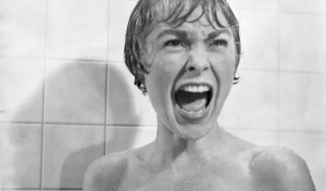 The death scream in the shower