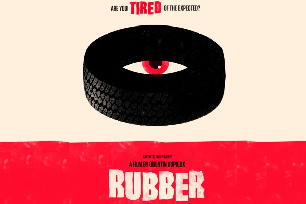 Rubber vintage movie poster