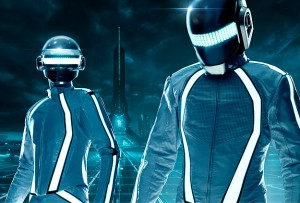 Daft Punk make a guest appearance in the sequel TRON: Legacy