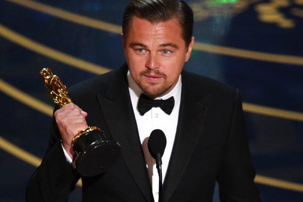 Leonardo DiCaprio finally wins an Oscar