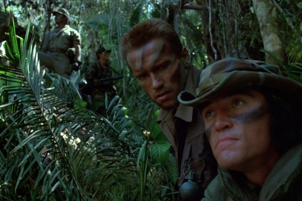 Arnold and Billy plan on catching the predator