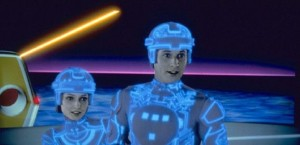 Alan and Lora are also here as Tron and Yori
