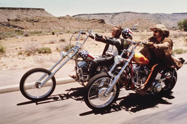 Easy Rider driving around