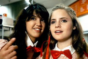 Phoebe Cates and Jennifer Jason-Leigh in Fast Times at Ridgemont High