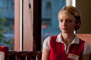 Carey Mulligan as a lonely waitress in Drive