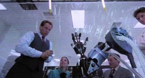 RoboCop has front row tickets to his own surgery