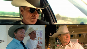 Michael Parks as Sheriff Earl McGraw in several Tarantino Movies